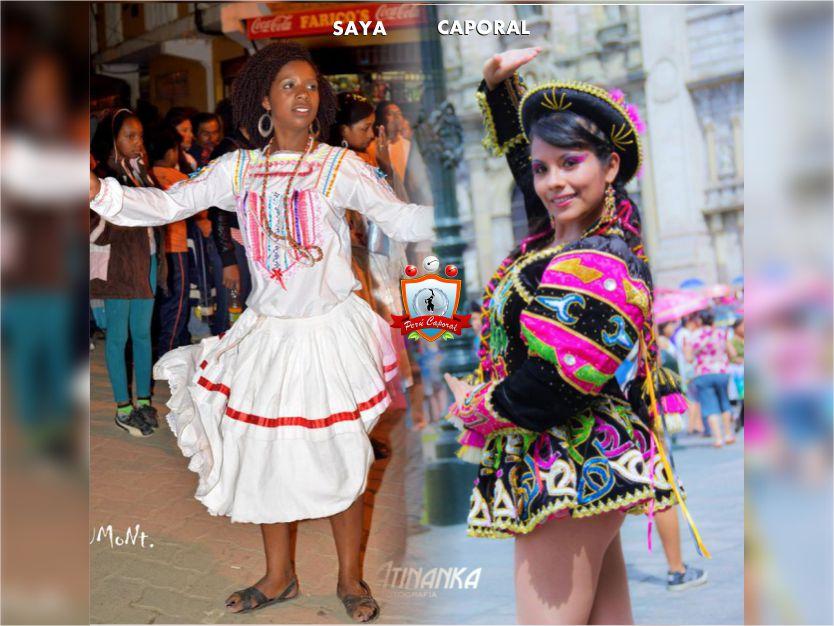 ¿Saya o Caporal? | Perú Caporal | www.perucaporal.com | Créditos: Uriel Montufar - Atinanka