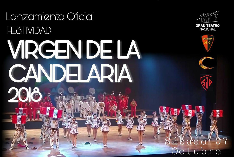 Promoción del Lanzamiento de la Festividad Virgen de la Candelaria