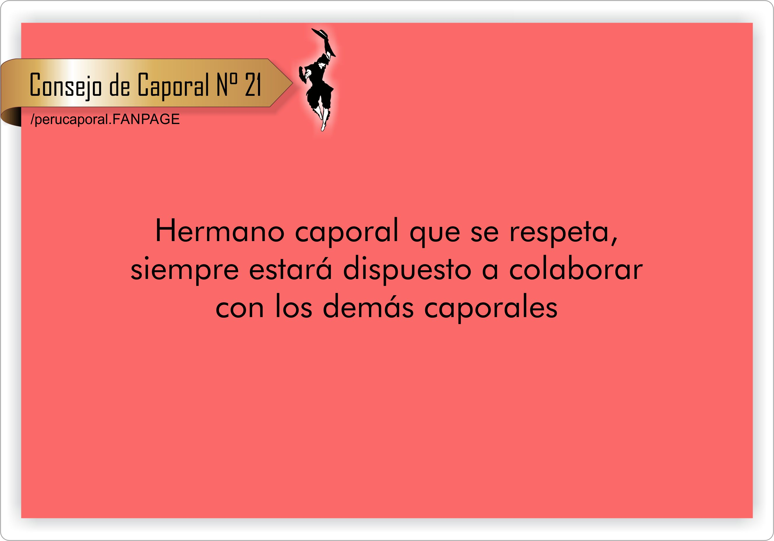 «Si eres caporal, eres mi hermano» -Ángel Paz