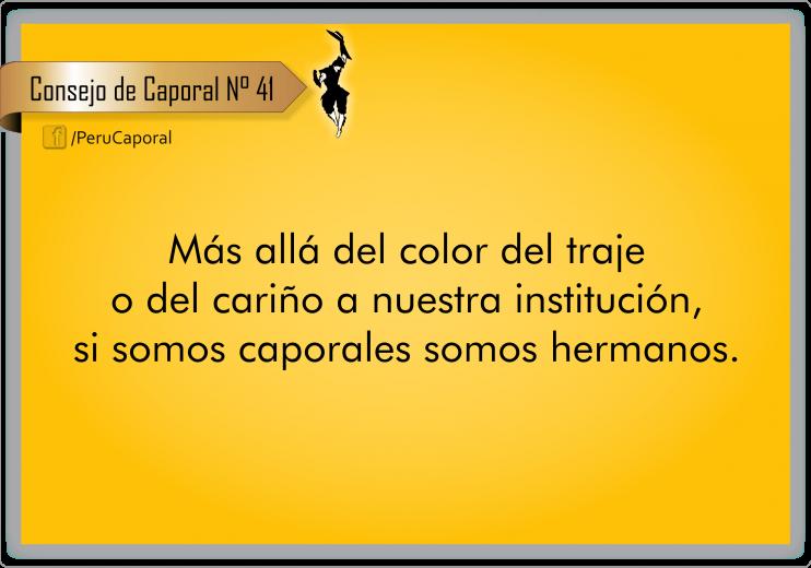 Todos somos caporales y solo unidos lograremos llevar adelante a la música, danza, arte y folclore del caporal, en el Perú y el mundo.
