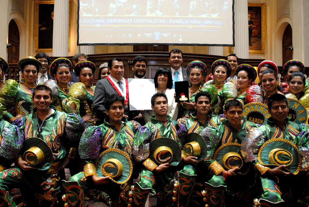 Congreso de la República condecora a los Caporales Centralistas Puno